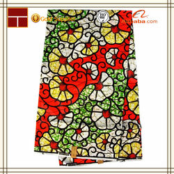 2015 new product african wax prints fabric 6 yards