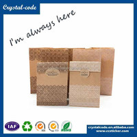 Good quality durable carrying kraft paper bag for garment
