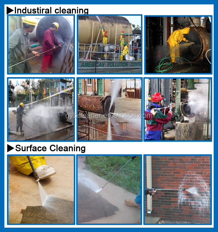 marine high pressure washer high pressure cleaner high pressure sewer and drain cleaning machine
