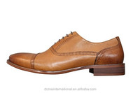 Wholesale online retail man european trendy genuine cowhide leather men dress shoes new italy design formal camel shoes