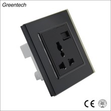 3 Gang Socket Outlet 3 Pin Switch Socket