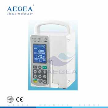 AG-XB-Y1000 4 hours with battery electrical infusion pump supplier