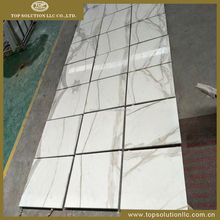 Hot Sales Calacatta White Marble Floor Tiles, White Marble, Polished Greek White Marble Floor Tiles