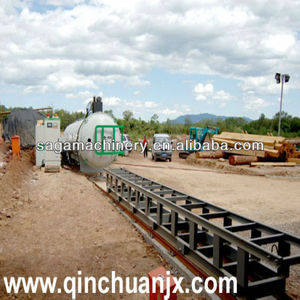 8 Cubic Meter High Frequency Wood Treatment Machinery