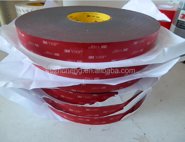 3M VHB adhesive tape 5952 double sided acrylic foam tape 3M Tape Acrylic tape 5952 black color die cut any size
