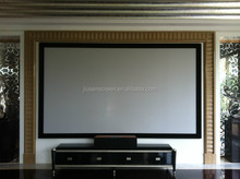 High Quality Fixed Frame Projector Screen with black velvet