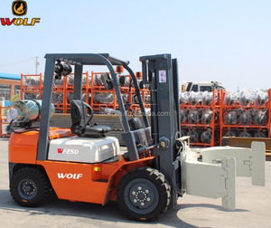 WF250 modern new diesel feeler forklift with best price