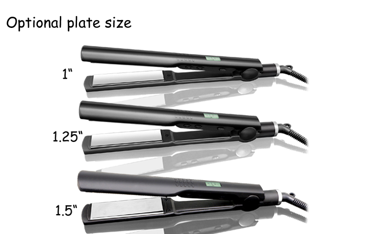 OEM Professional ceramic flat iron and hair straightener and hair salon equipment and hair flat iron