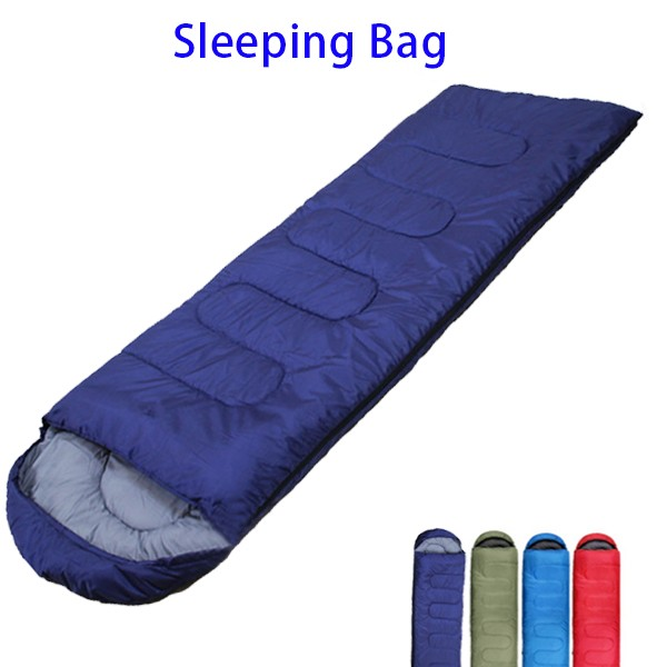 3 Season Portable Camping Outdoor Envelope Mummy Sleeping Bag