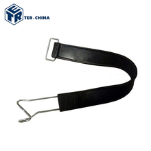 Wholesale Factory Manufactory Rubber Strap With Metal Hook