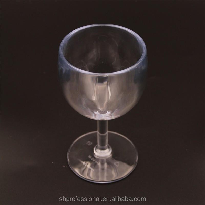 8oz Promotion Plastic Acrylic Wedding Bpa Free Wine Goblet Buy Acrylic Wine Glas Unbreakable