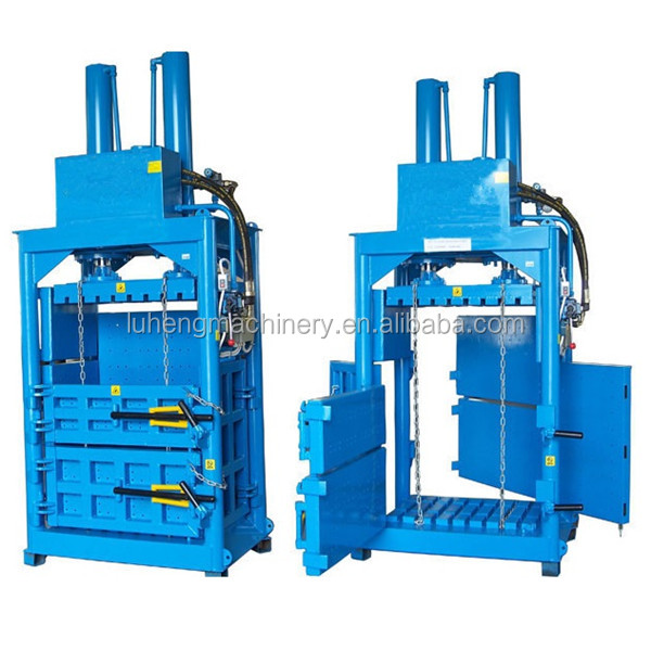 Whatsapp:+8613625377838 220~240V Single/three phase electric start hydraulic automatic metal baler machine