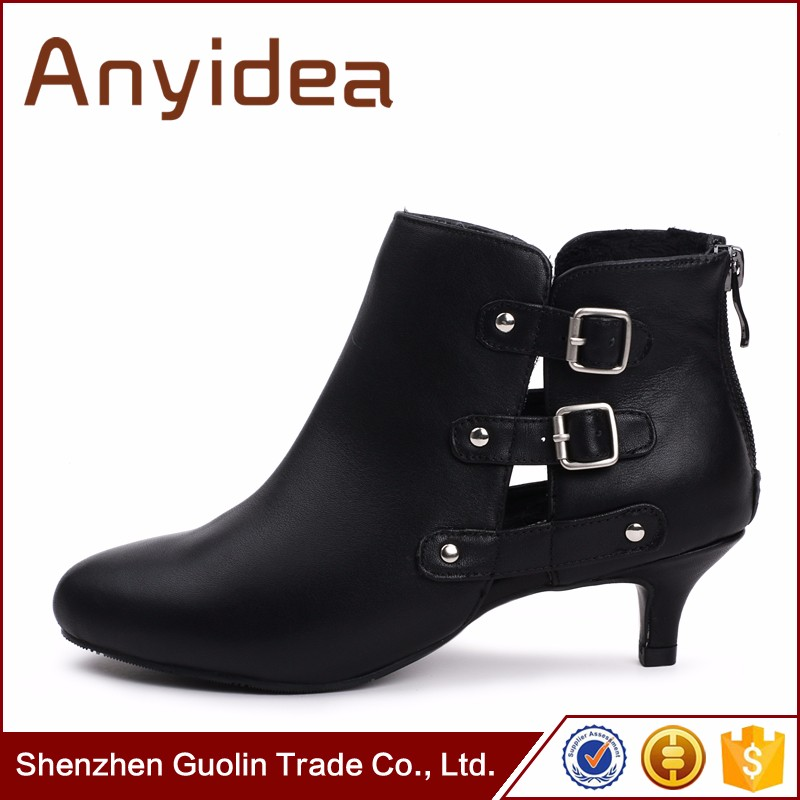 Chengdu famous brand genuine leather upper winter boot fashion dresses high heel boot shoes woman ladies
