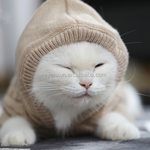 Anxiu produced grey cat clothes with sweater style