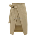 New arrival high grade plain casual female long skirt for cheap price