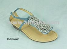 Lady's bead shoes, summer shoes