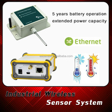 Household Usage and Temperature Controller Industrial Wireless Sensor System