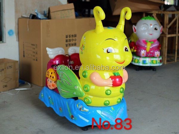 2017 lovely amusement rides coin operated animal rides for kids sale