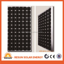 good price high efficiency 170w monocrystalline solar panel and solar module with CE TUV UL