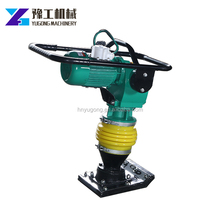 hcr110 heavy type gasoline engine 6.5hp tamping rammer for narrow ground