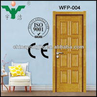 high quality waterproof pvc wood door designs in pakistan