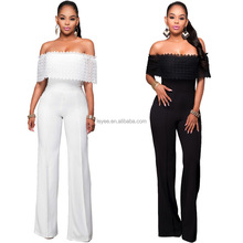 sexy lace jumpsuits Bodycon Bodysuit Women Jumpsuits ebay in stock