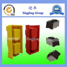 Factory High Quality Hollow concrete block brick making mould plastic