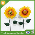 New Products Metal Decorative Metal Sunflower Garden Stakes