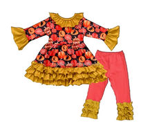He is made of cotton and with pleated lace is the favorite of children's festivals Festival Halloween suit