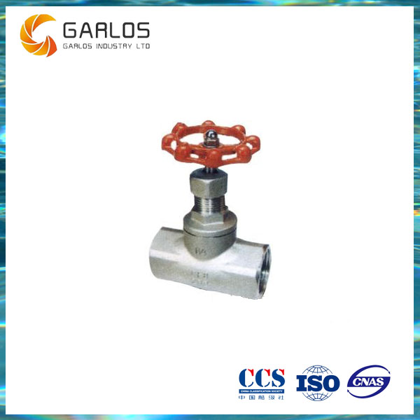 J11H Stainless steel bellow valve cut off globe valve