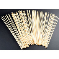 18 natural bamboo marshmallow roasting sticks for sales