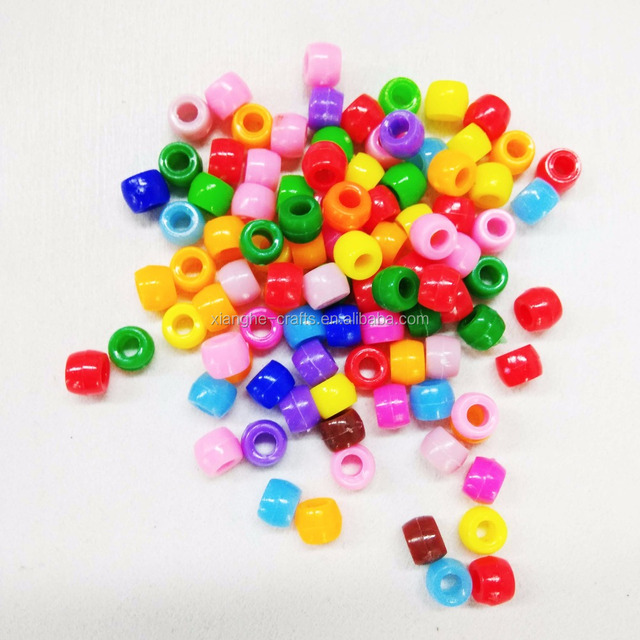 Factory Wholesale Plastic Beads Crystal Beads Seed Beads Used for Jewelry Making
