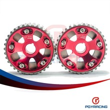 PQY STORE-Adjustable DOHC Cam Gears Alloy Timing Gear For Honda Civic B16A B16B PQY6532R