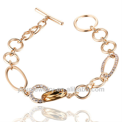 Promotional Wholesale justin bieber style pave chain link bracelet