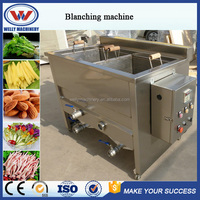 Popular sale on Alibaba good performance vegetable steam blanching machine