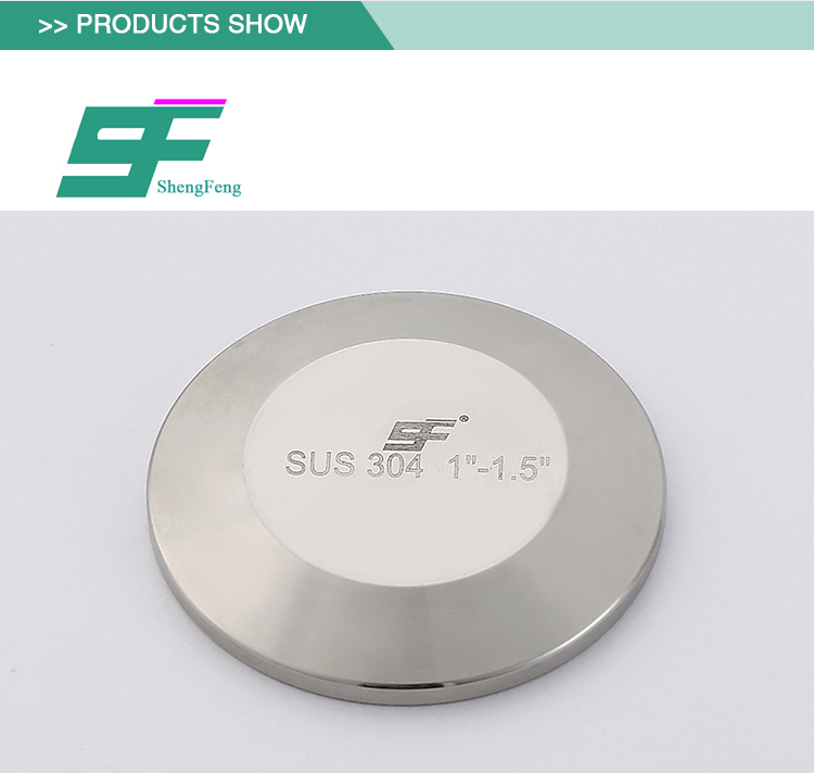 High quality durable stainless steel sanitary union blank