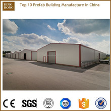 china steel structure modular portable low cost prefab warehouse