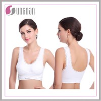 2015 new styple lady underwear seamless sport bra girl tube lace woman sexy bra yoga bra