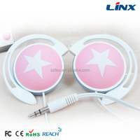 Stereo earphone clip mp3