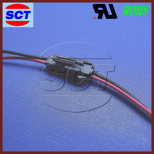 High Quality JST SM 2 pin wire harness connector for Adapter