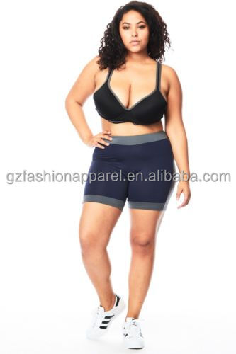 fitness bra sports shorts big size women sexy photo wholesale yoga wear