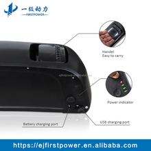 Recharageable Lithium Battery Pack Atlas Dolphin Battery 36V 15.6Ah For Electric Bicycle
