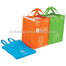 Recycling Bin Tote Set wholesale cheap high quality bag
