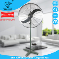 Professional heavy duty industrial stand fan with low noise