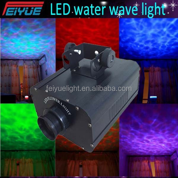 superbright dj disco stage theatre 30w crazy led waterwave light