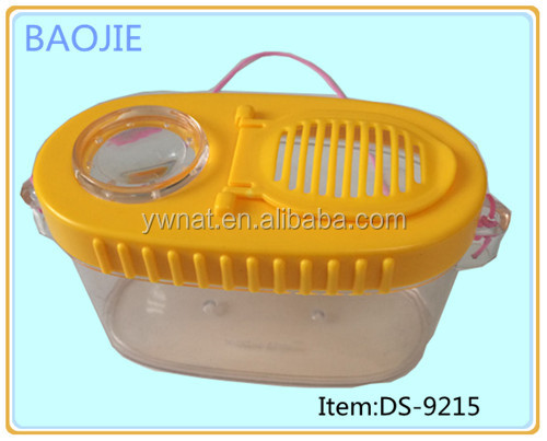 New acrylic insect cage pet plastic cage for small animals