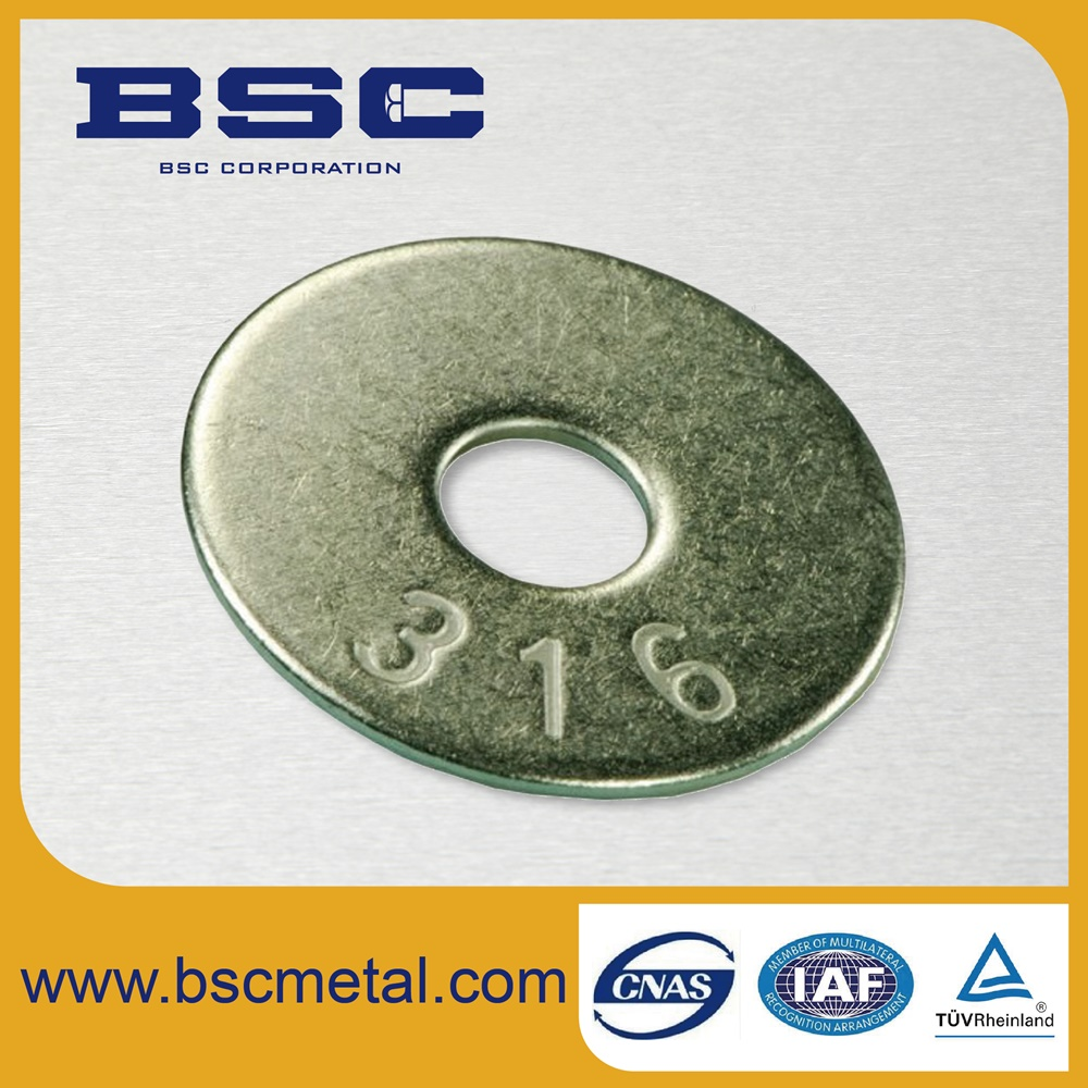 DIN 125 / ISO 7089, 7090 FLAT WASHER A2/A4 STAINLESS