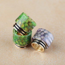 Tobeco mini supertank epoxy resin drip tip and expansion tube for tfv8/12 tank tfv8drip
