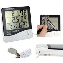 LCD Screen Household Digital Thermo Hygrometers HTC-2