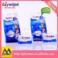100%biodegardable rayon compressed tablet towel facial mini tissue 28*40cm 6 pcs packed in bag